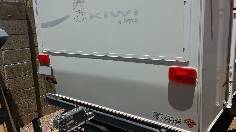 LED RV Trailer License Plate Bracket RV Van Snowmobile
