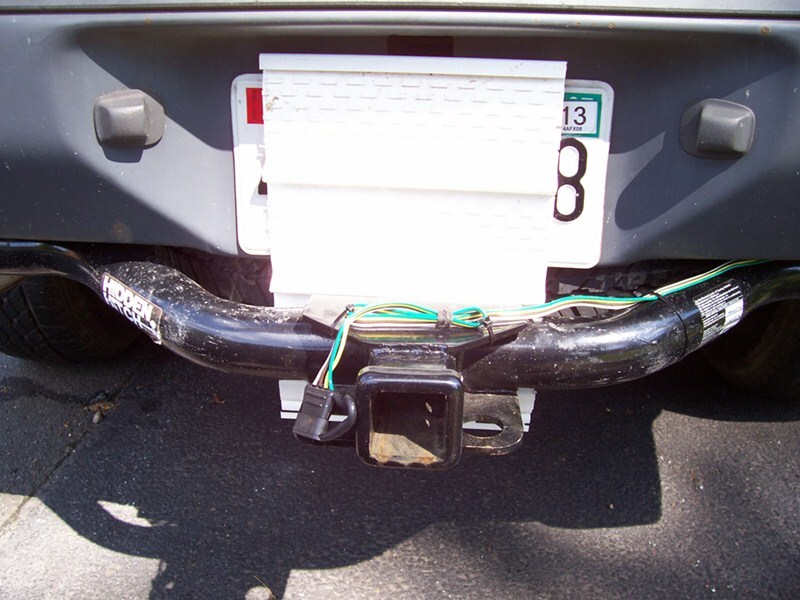 2004 nissan xterra trailer hitch