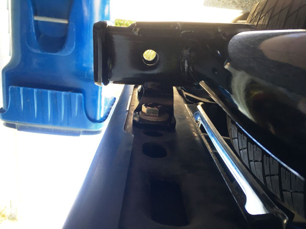 Curt Trailer Hitch Receiver - Custom Fit - Class III - 2