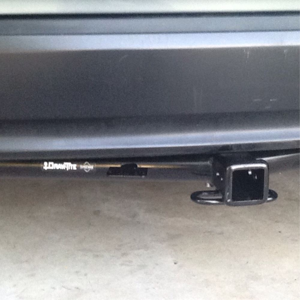 Draw Tite Max Frame Trailer Hitch Receiver Custom Fit Class Iii Installation Of A Wiring Harness On 2005 Lexus Rx 330 2 75742