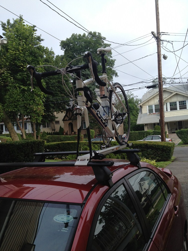 Sqr Quick Release Rooftop Bike Carrier For Rhino Rack Aero