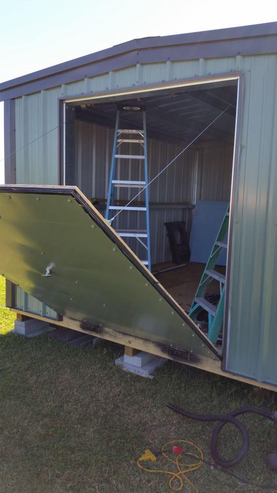 Enclosed Trailer Ramp Spring - Dual Spring, 81
