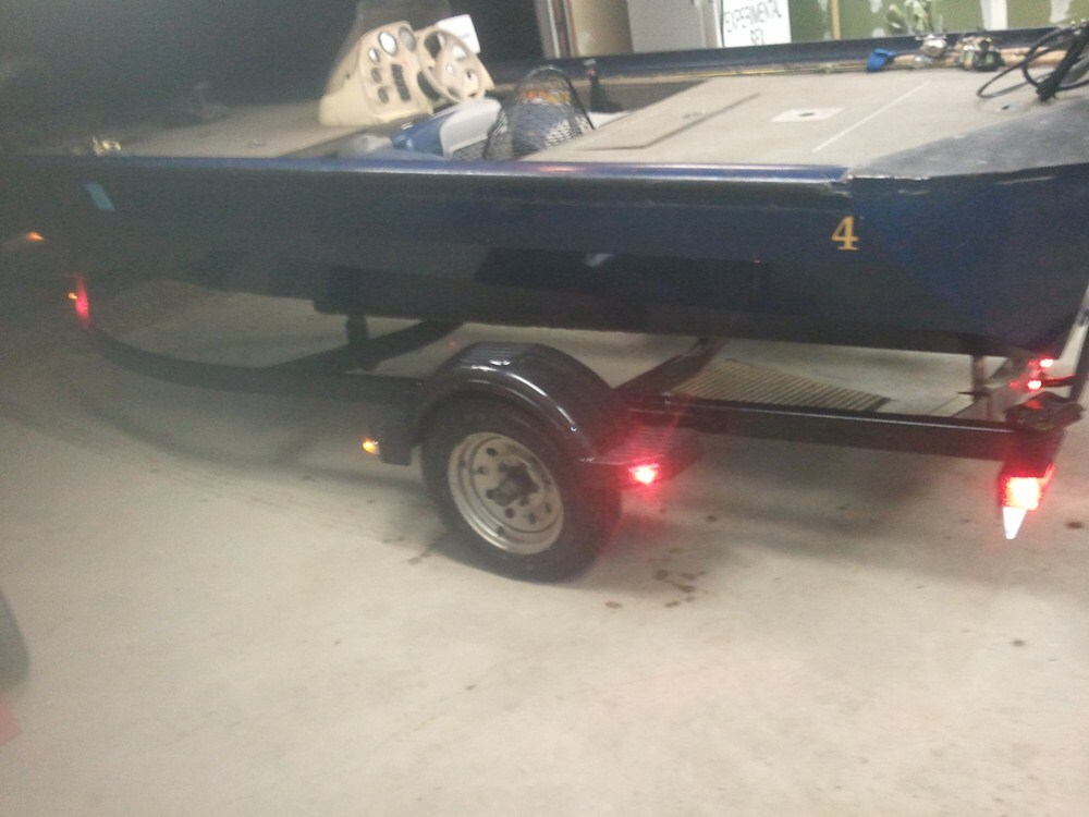 Fulton Single Axle Trailer Fender with Top and Side Steps - Black