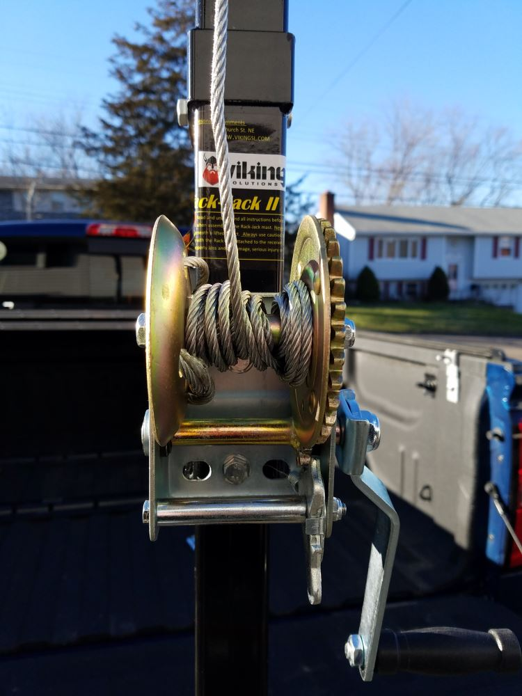 Viking Solutions Rack Jack II Hoist with Winch for 2
