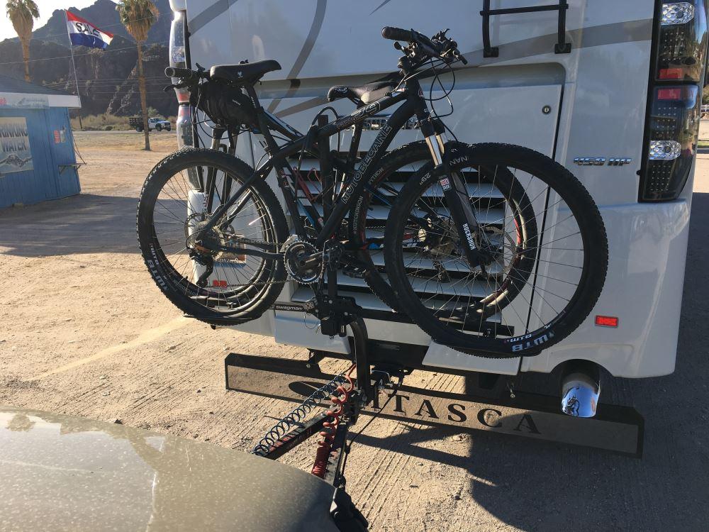 "Swagman Original 4 Standard Single Arm Bike Rack Fits 2/"" Hitch Receiver A12"