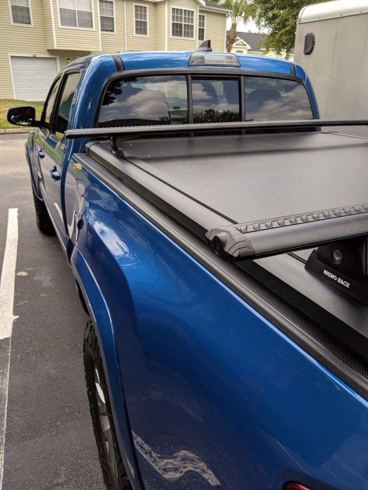 VA-SEC2 2 Rhino Roof Rack Vortex Sports 1 Bar Secure Core Locking End Caps