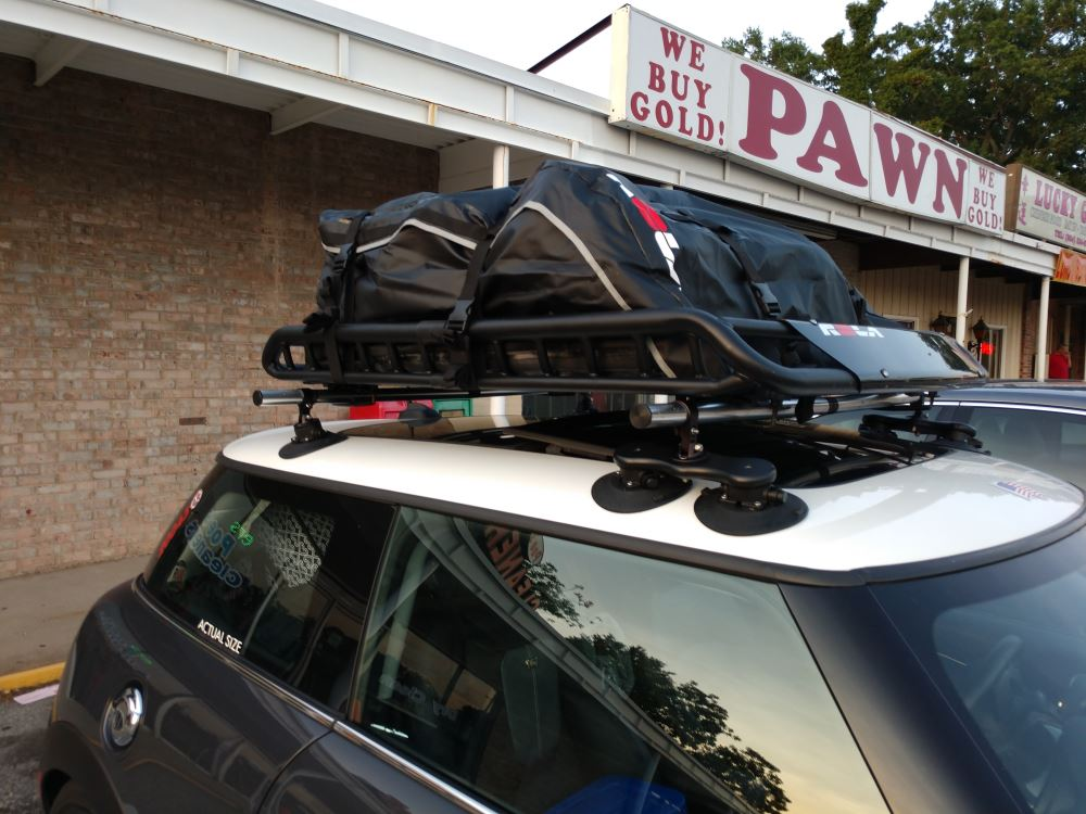 SeaSucker Monkey Bars Roof Rack - Vacuum Cup Mount - Folding ...