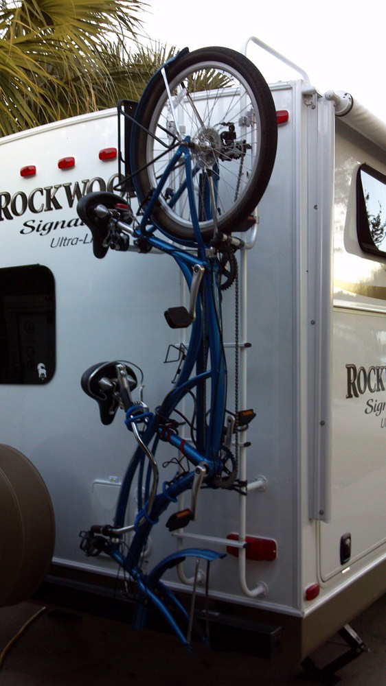 Motor Mount Price >> Surco 2 Bike Carrier for Vans and RVs - Ladder Mount Surco Products RV and Motorhome Bike Racks ...