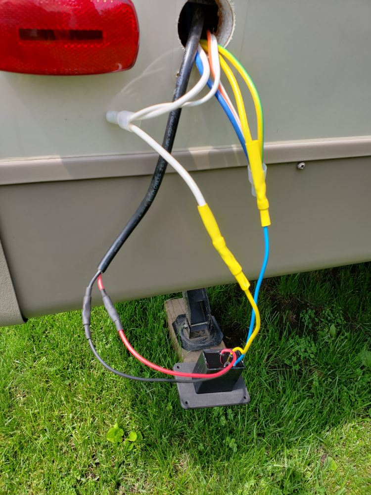 Replacement Electric Jack Switch with Harness for Lippert ... on