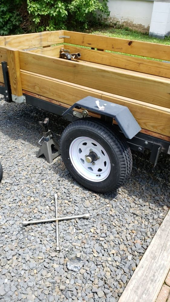 Kenda 5 30-12 Bias Trailer Tire with 12