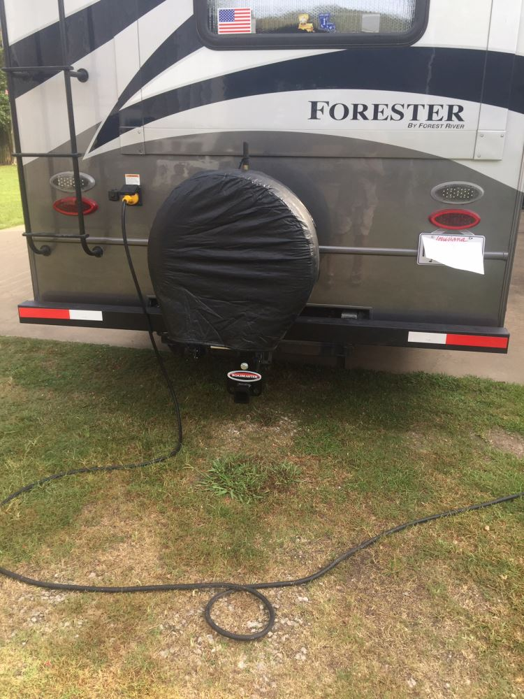 Roadmaster Hitch Mounted Spare Tire Carrier w/ 2