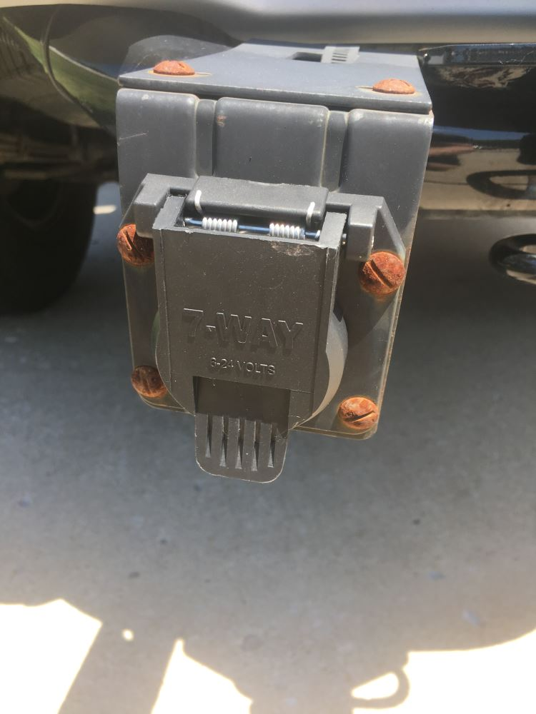 T-One Vehicle Wiring Harness with 7-Way Trailer Connector Tekonsha