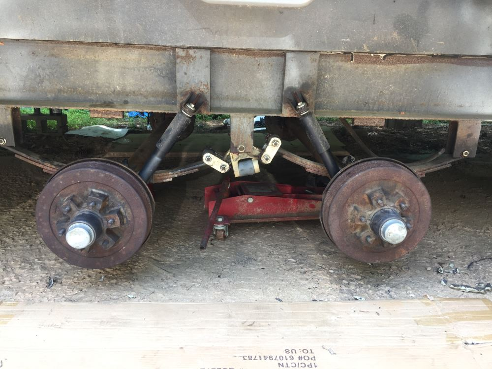 Dexter Trailer Springs Over-Under Conversion Kit Dexter Axle