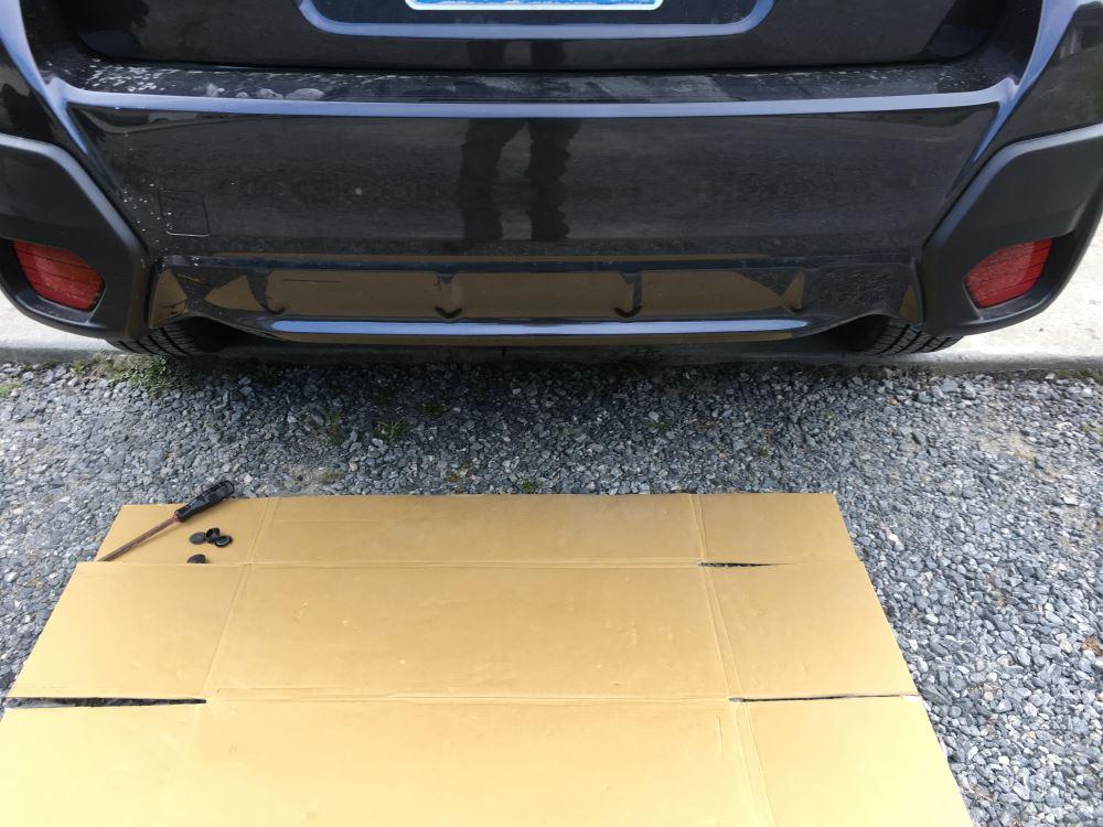 2018 Subaru Crosstrek Curt Trailer Hitch Receiver - Custom