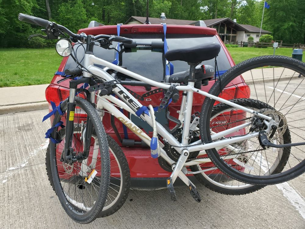 Thule Passage 2 Bike Carrier - Trunk Mount Thule Trunk Bike