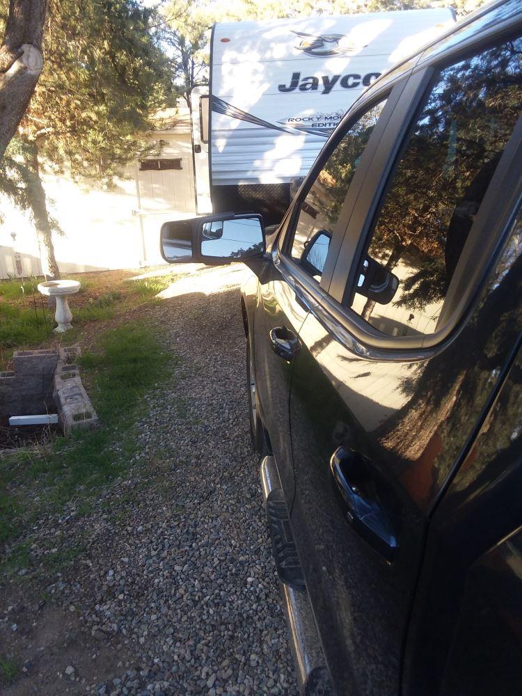 2019-2020 Longview LVT-1820 Original Slip-On Towing Mirror for GMC Sierra//Chevrolet Silverado