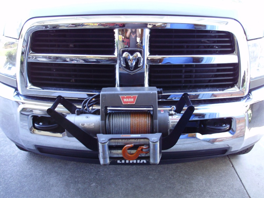 2014 Dodge Ram Pickup Front Hitch - Draw-Tite