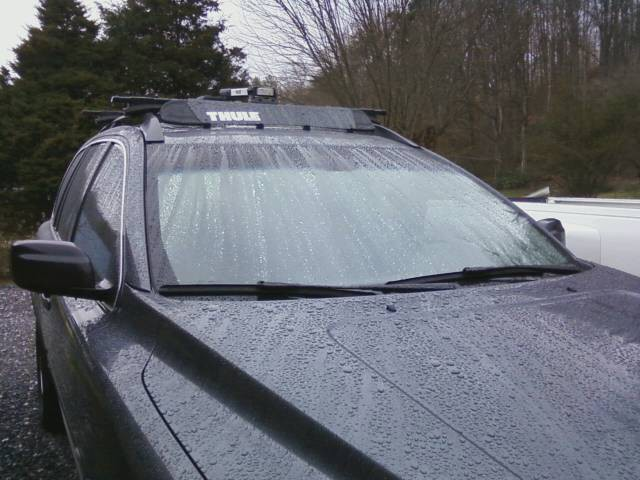 "Thule Roof Rack Parts >> Thule AirScreen Fairing for Roof Racks - 38"" Long Thule ..."