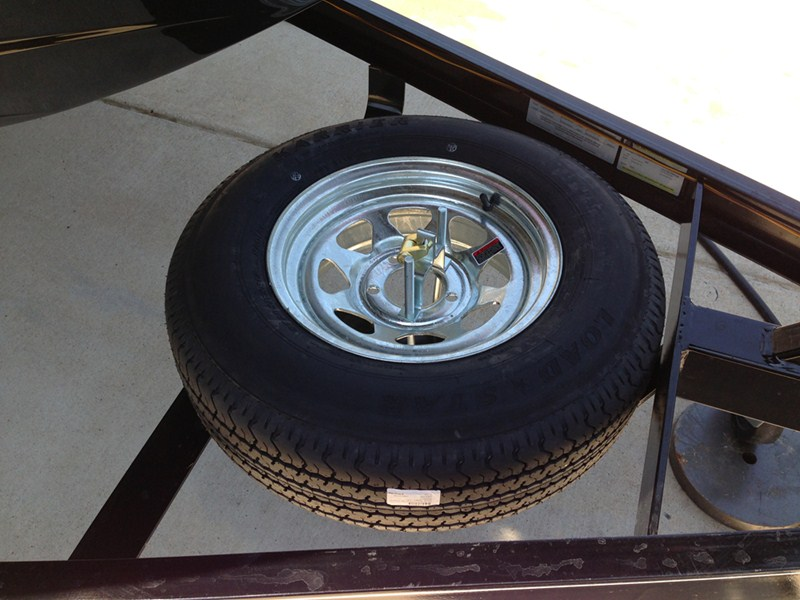 Fulton Economy Spare Tire Carrier With Lock Fulton Spare