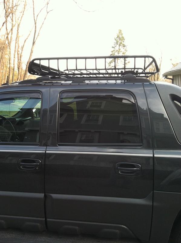 Yakima MegaWarrior Extra Large Roof Rack Cargo Basket   Y07080