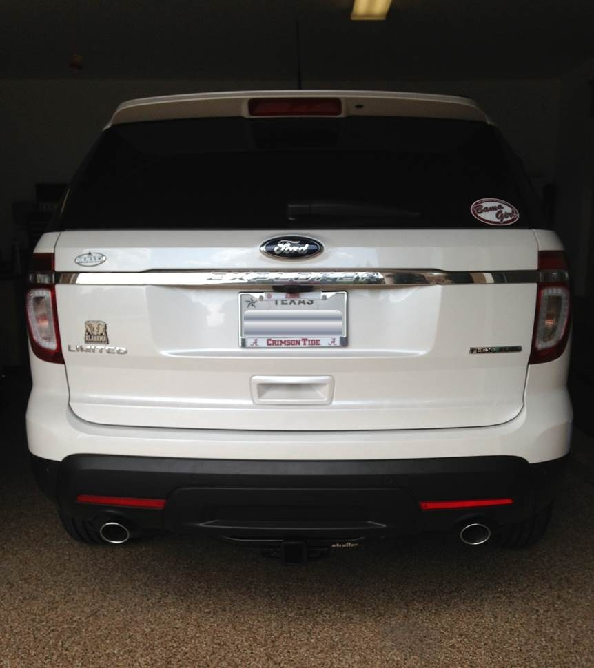 Ford Transit 250 >> 2017 Ford Explorer Curt Trailer Hitch Receiver - Custom