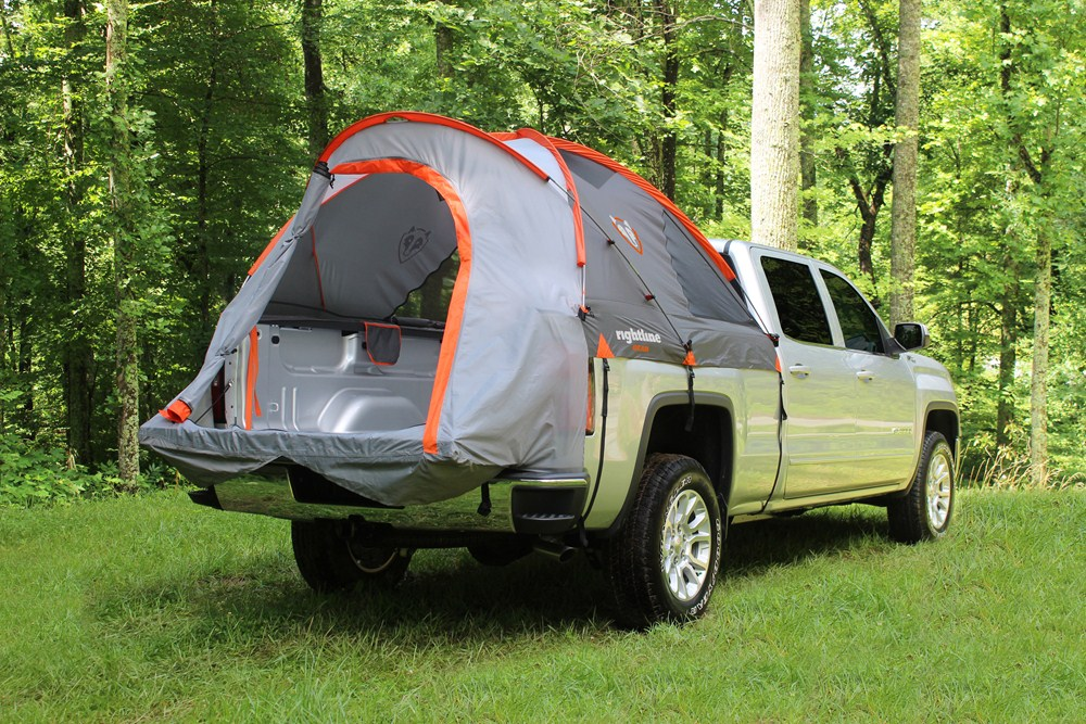 rightline truck bed tent waterproof sleeps 2 for 8 39 long beds rightline gear truck bed. Black Bedroom Furniture Sets. Home Design Ideas
