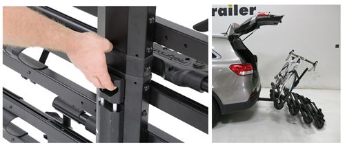 RockyMounts SplitRail Bike Rack Adjustable Handle for Tilt Fold Action