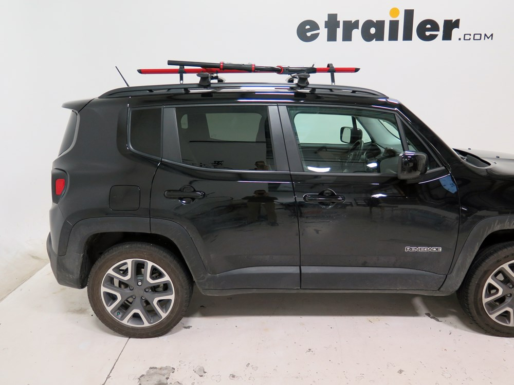 2015 Jeep Renegade RockyMounts BrassKnuckles Roof Mounted