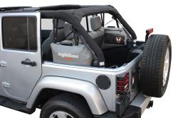 Rightline Gear Custom Side Storage Bags - Jeep Wrangler Unlimited - Water-Resistant - Gray - Qty 2 - RL100J75
