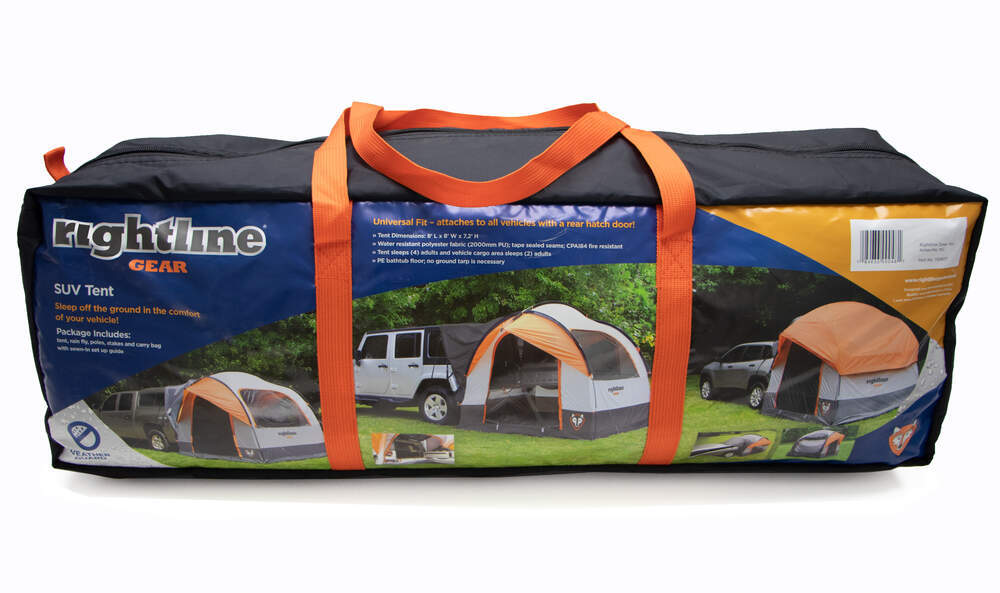 09ff18c952 Rightline Gear SUV Tent with Rainfly - Waterproof - Sleeps 4 Rightline Gear  Truck Bed Tents RL110907