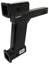 "Roadmaster Dual Hitch Receiver Adapter, 10"" Drop/Rise - RM-077-10"