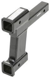 "Roadmaster Dual Hitch Receiver Adapter, 8"" Drop/Rise"