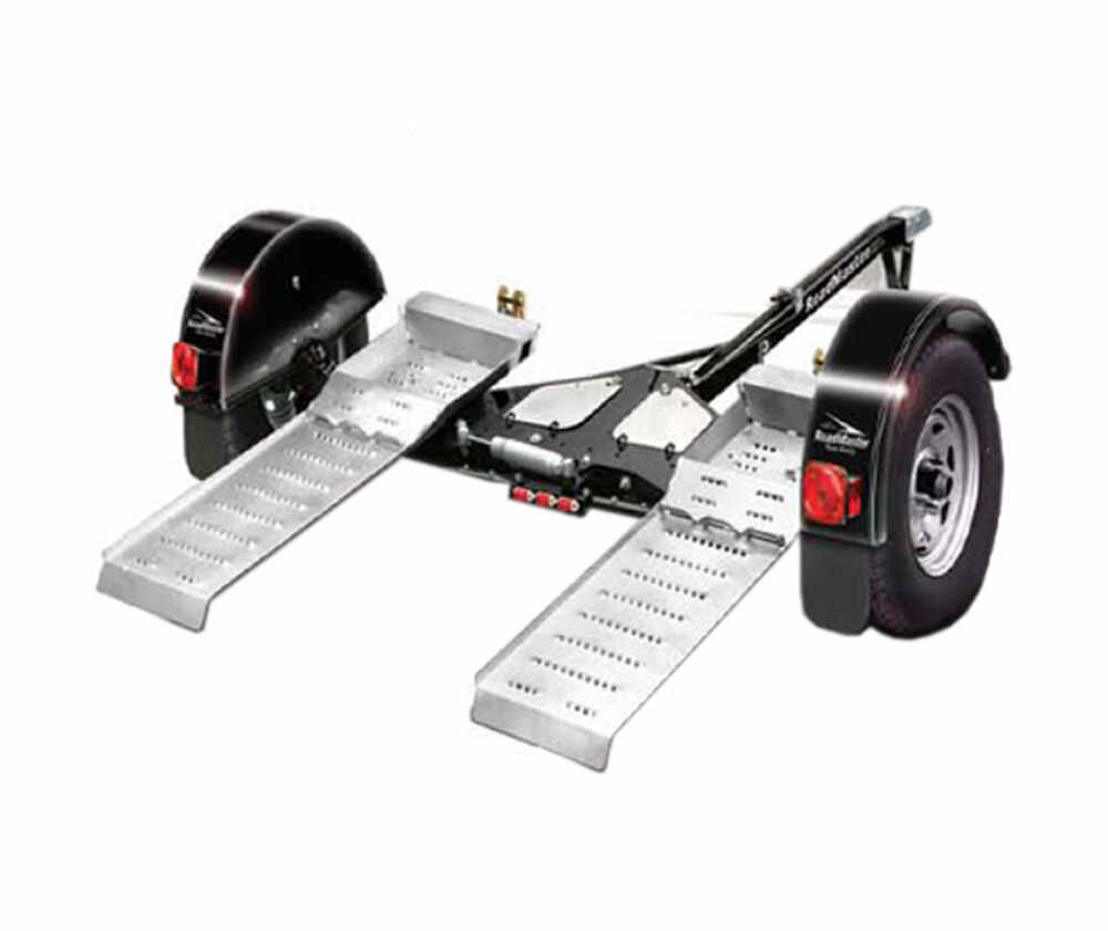Roadmaster Tow Dolly With Self Steering Wheels And Electric Brakes