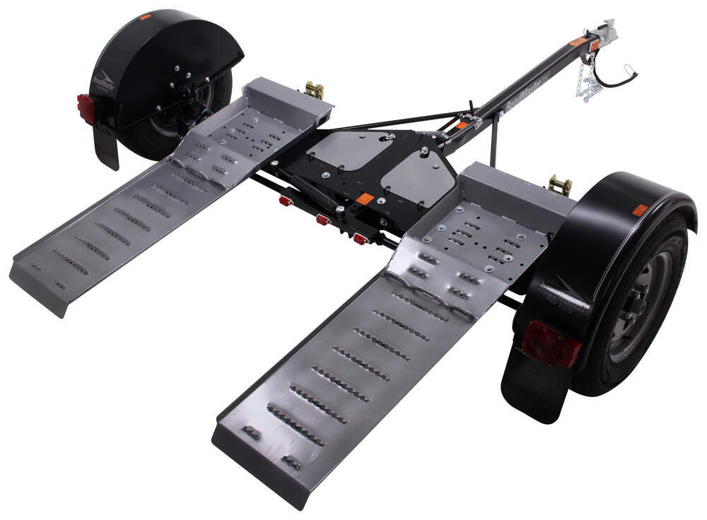 Electric Trailer Dolly >> Roadmaster Tow Dolly with Self-Steering Wheels and Electric Brakes - 4,380 lbs Roadmaster ...