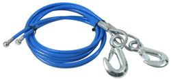 "Roadmaster EZ Hook Safety Cables - 55"" Long - 8,000 lbs - Qty 2"
