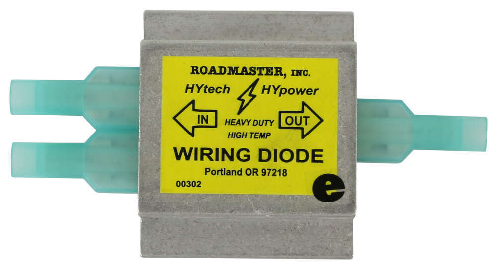 RM-790 - Diodes Roadmaster Tow Bar Wiring