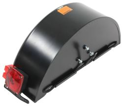 Replacement Driver's Side Fender for Roadmaster RM3477 Tow Dolly with Electric Brakes - Metal