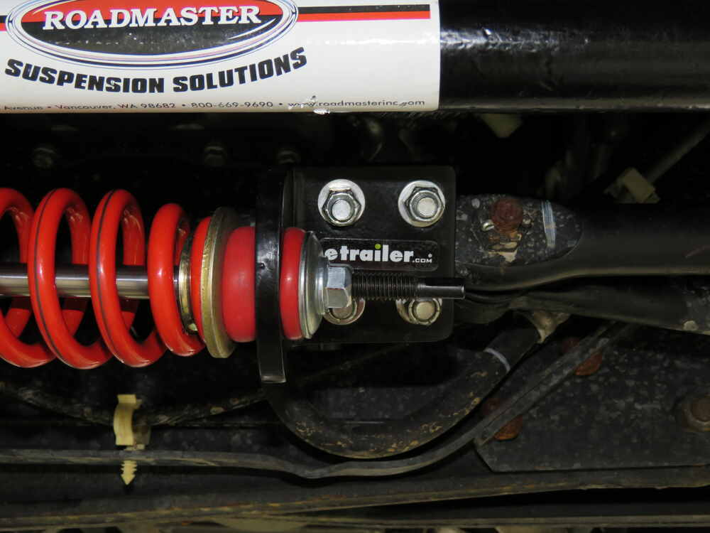 Roadmaster Reflex Steering Stabilizer with Mounting Brackets for