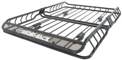 "Rhino-Rack Roof Mounted Steel Cargo Basket - 57"" Long x 42"" Wide - 165 lbs"
