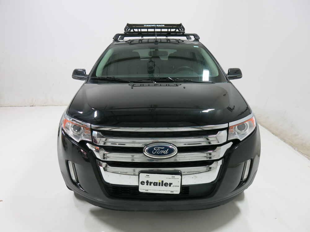 2009 Ford Edge Rhino Rack Roof Mounted Steel Cargo Basket