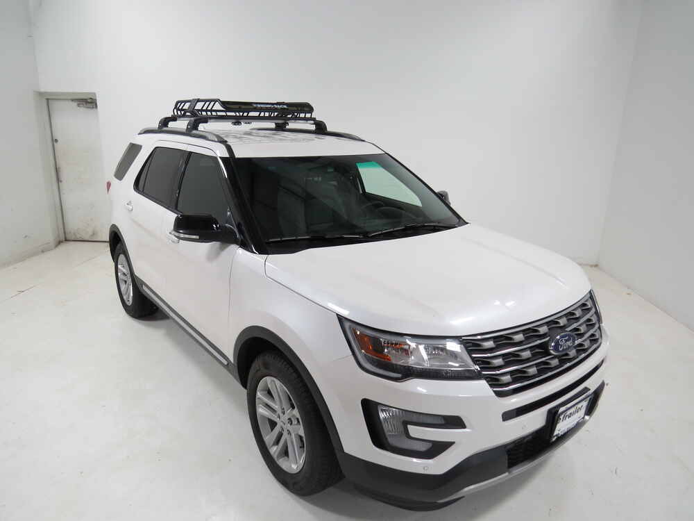 2016 ford explorer rhino rack roof mounted steel cargo. Black Bedroom Furniture Sets. Home Design Ideas