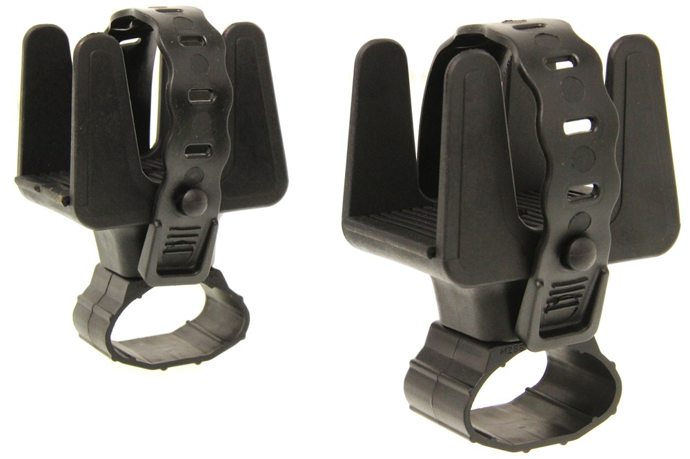 Rhino rack multipurpose holder for thule rapid aero for Thule fishing rod holder