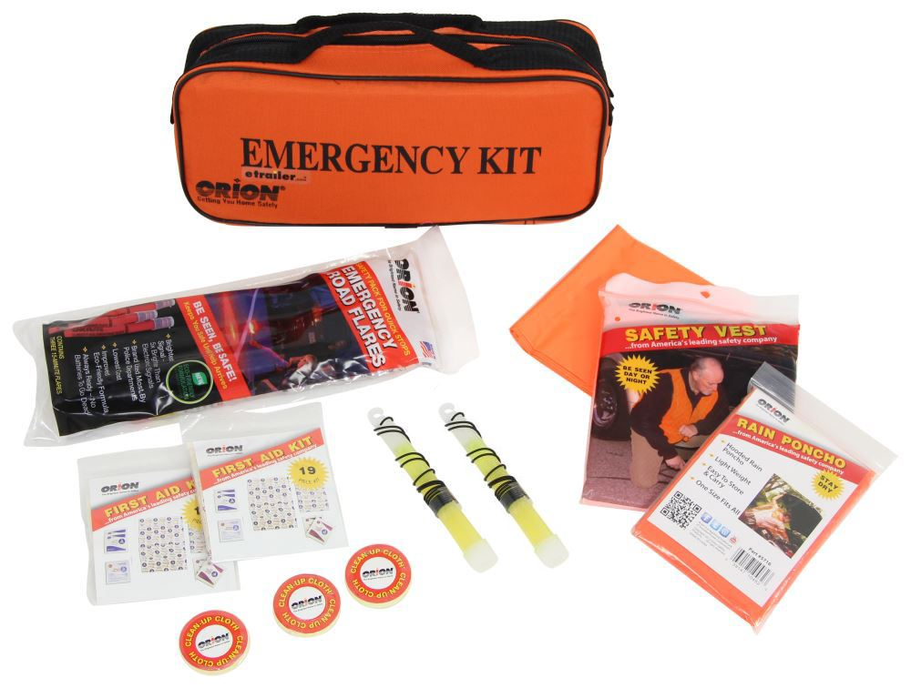 Orion Emergency Kit,First Aid Kit - RN8906