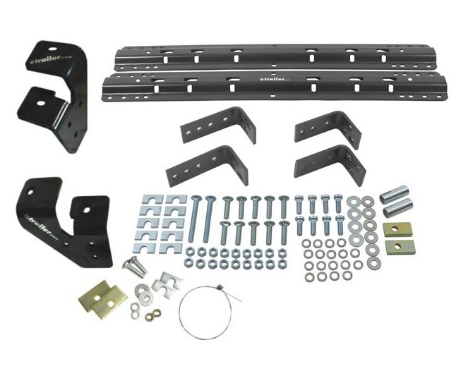 Reese Semi-Custom Base Rail and Installation Kit for 5th Wheel Trailer Hitches - Dodge Ram Above the Bed RP30035-186
