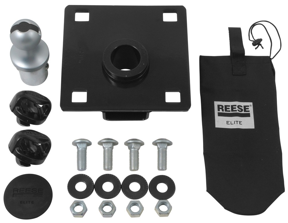 Reese Elite Series Under-Bed Gooseneck Trailer Hitch Head Kit - 25,000 lbs Hitch Only RP30138