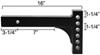 reese accessories and parts weight distribution hitch fits 2 inch rp3214