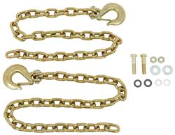 "Reese Safety Chain Kit with Clevis Hooks - 44"" Long - 20,000 lbs - Qty 2"