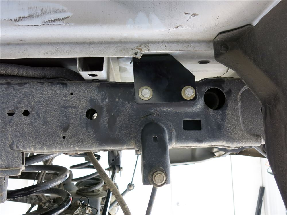 Fifth Wheel Trailer Hitch : Reese quick install custom installation kit w base rails
