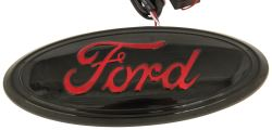 Ford LED Lighted Vehicle Emblem - Black