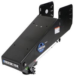 Reese Goose Box 5th Wheel To Gooseneck Air Ride Coupler Adapter Lippert 1621 And 0719 20 000 Lbs